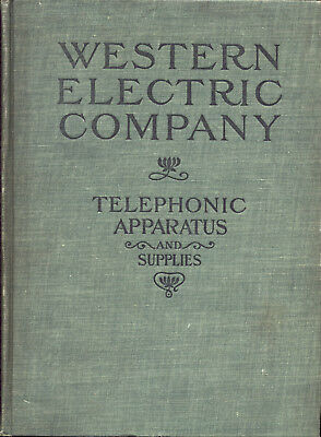 WESTERN ELECTRIC RARE TELEPHONE CATALOGS Impossible to find originals, all on CD