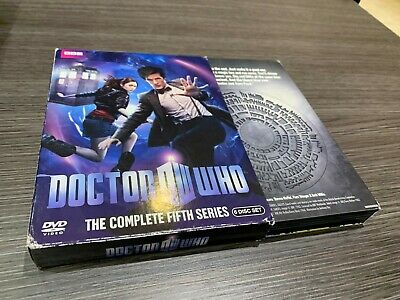 Doctor Who  Dw  Bbc  The Complete Fifth Series 6 Disc Set  English Version