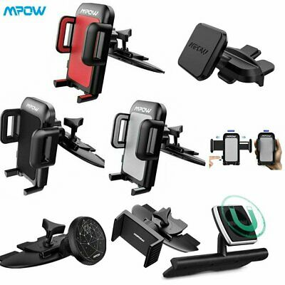 Mpow 360° CD Slot Mobile Phone Holder for In Car Universal Stand Cradle Mount