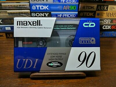 Maxell UDI 90 Blank compact cassette tapes Type I