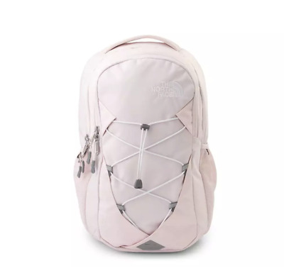 The North Face Jester Backpack Pink Book Bag Reflective Purdy Pink FlexVent