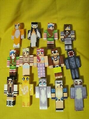 36Pcs//Lot Minecraft Series 2 Stone 3 4 5 Mini Action Figure Toys Characters Sets