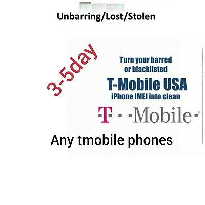 """T-Mobile USA - IMEI Premium Unbarring - All Models [99% High Ratio] """"Express S"""