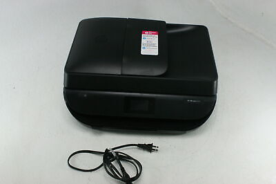 HP OfficeJet 5255 Wireless Connection All in One Printer Smart App Capable Black
