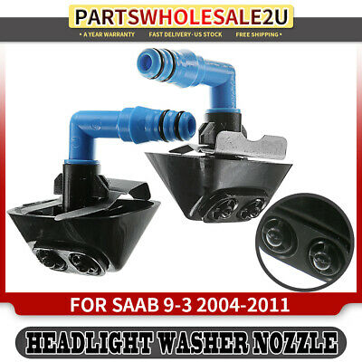 New For Saab 9-3 04-11 9-3X 2010-2011 Right RH Headlight Washer Nozzle 12803973