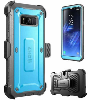 For Samsung Galaxy S8, SUPCASE Unicorn Beetle Fullbody Case Cover with Screen US