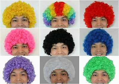 Clown AFRO Wigs  Fancy Dress Party Costume 26-pack
