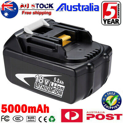 NEW 18V 5AH Battery For Makita LXT400 BL1850 BL1830 BL1860 Lithium Ion Cordless