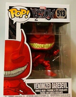 FUNKO Pop Marvel VENOM VENOMIZED DAREDEVIL #513 4in Vinyl Figure IN STOCK