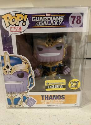 Funko POP! Marvel: Guardians of the Galaxy - Thanos GITD Entertainment Earth