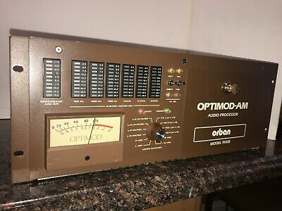 Orban Optimod 9100B2/U10 AM Broadcast Audio Processor