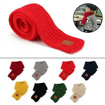 K&K Kids Girls Boys Winter Scarf Warm Toddler Knitting Wool Scarf Neck Warmer