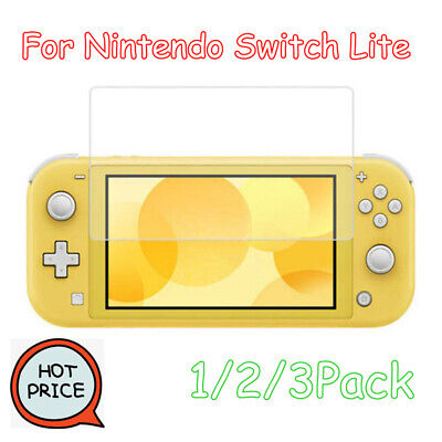 Tempered Glass For Nintendo Switch Lite Premium 9H Screen Protector Film Lot aa