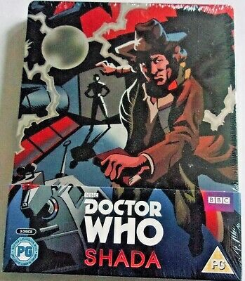 Doctor Who Shada Bluray Uk Limited Edition 3 Disc Steelbook. **New+Sealed**