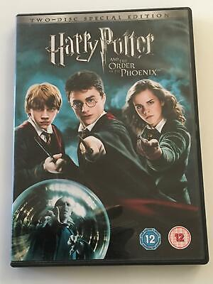 Harry Potter And The Order Of The Phoenix (DVD, 2016, 2-Disc Set) (Zone Region 2