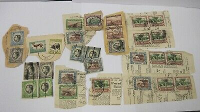 South West Africa Stamps - Collection used x 30 in total 1937, 1938