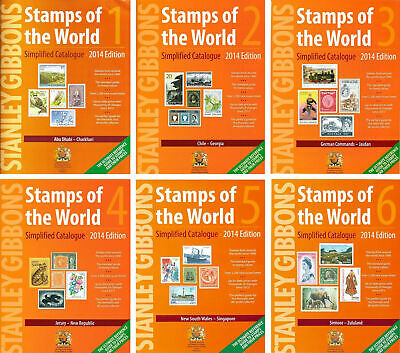 STANLEY GIBBONS 2014 Complete Worldwide Catalogue A-Z - Instant Download