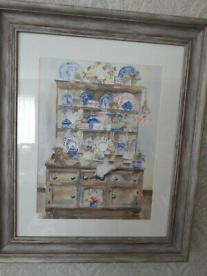 Original Watercolour, Perfect Keepsake/gift Signed By Artist N S Dugmore