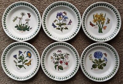 "PORTMEIRION BOTANIC GARDEN SIDE PLATE 6.5"" (16.3 cm) LAUNCHED 2018 NEW"