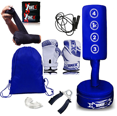 Free Standing Boxing Punch Bag Junior Kick Art UFC MMA Training Indoor Sports