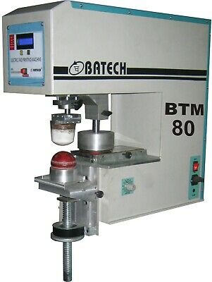 Batech Single Color Motorized Pad Printing Machine Mechanical Product Printing