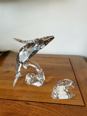 Swarovski Annual Edition 2012 Humpback Whale Paikea With Wave Plaque 1095228