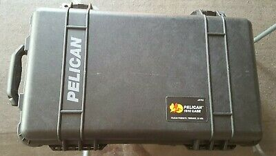 Pelican 1510 case + divider Peli 1515 Ultimate carry-on luggage with wheels USA