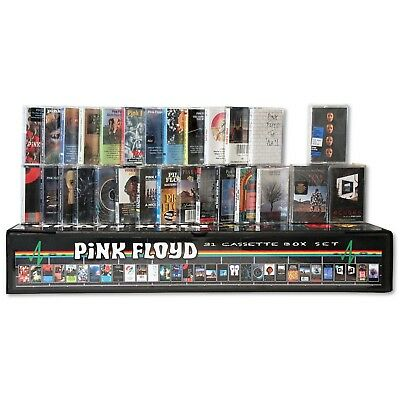 PINK FLOYD - 31 NEW/SEALED cassette tapes in a custom box set lot