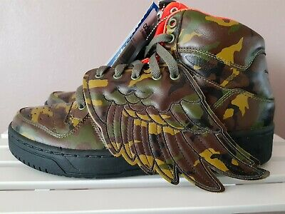 ADIDAS ORIGINALS OBYO Jeremy Scott JS WING CAMO Men's
