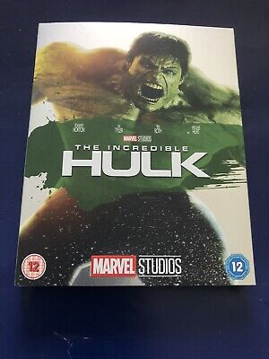 The Incredible Hulk Blu-ray With Slipcover Rare Brand New Sealed Region B Marvel
