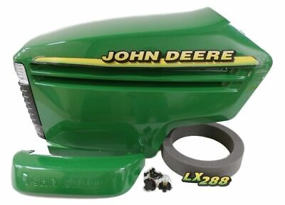 John Deere LX288 complete hood with serial # above 090001 AM132688 AM132529
