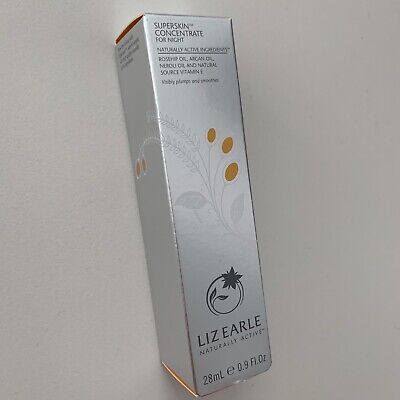 Liz Earle Superskin Concentrate For Night 28Ml Pump In Box Brand New