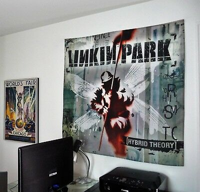 Linkin Park Hybrid Theory Huge 4x4 Banner Fabric Poster