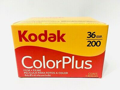 Kodak Film 35mm 36 135 Colour 36exp 200 Exp X Colorplus Print Professional Expos