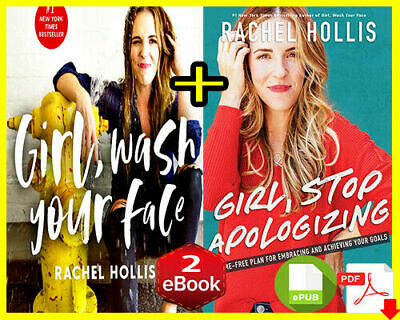 Girl Wash Your Face & Girl Stop Apologizing by Rachel Instant Delivery[E-B OOK]