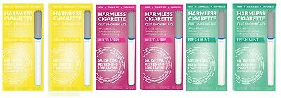 Harmless Cigarette Quit Smoking Aid Variety 6 Pack Lemon Mixed Berry and Mint