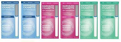 Harmless Cigarette Quit Smoking Aid Variety 6 Pack Oxygen Mixed Berry and Mint