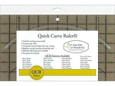 Sew Kind Of Wonderful Skw50570  Qcr Ruler Quick Curve