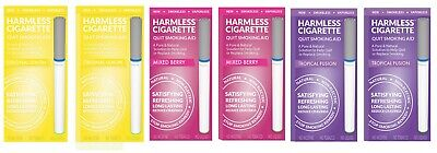 Harmless Cigarette Quit Smoking Aid Variety 6 Pack Tropical Fusion Berry & Lemon