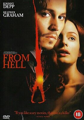 From Hell  (DISCS ONLY) DVD Thriller Johnny Depp