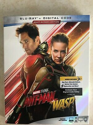 Antman And The Wasp (Blu-Ray, Digital, Canada)