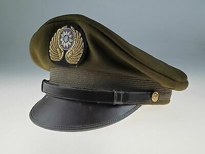 Original 1940s WWII Flying Tigers CBI AVG Crusher Hat - Excellent Condition!