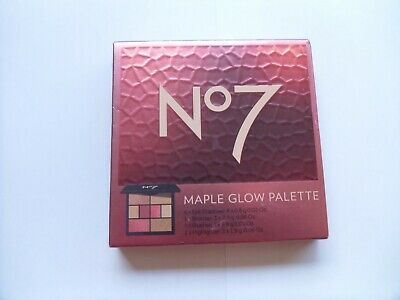 No7 Maple Glow Palette - Brand New & Sealed