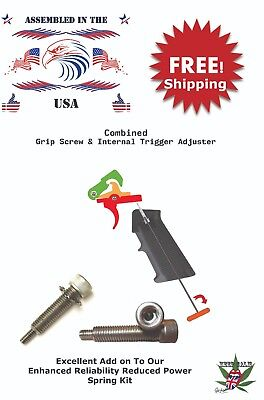 SS screw grip adjustment 223 5.56 308 Qty 2 Trigger Adjuster and Allen Wrench