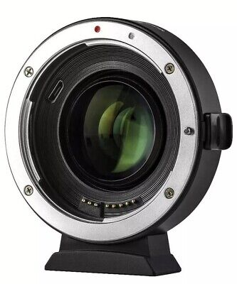 NEW Viltrox EF-EOS M2 Lens Adapter AF 0.71x Speed Booster for Canon EF to EF-M
