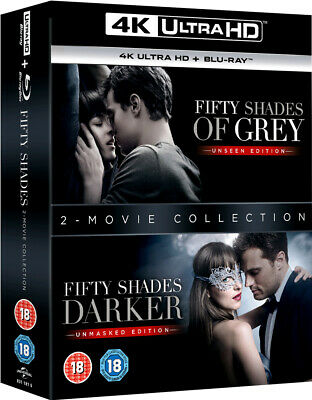 Fifty Shades Of Grey / Fifty Shades Darker 4K Ultra HD + Blu-Ray