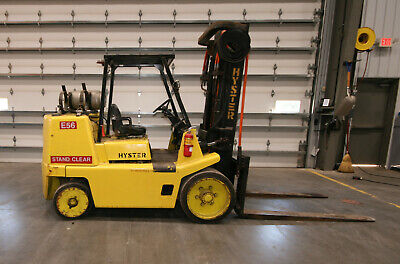12482 Hyster S155XL Forklift, 15,000 lbs. Capacity