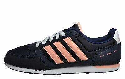 ADIDAS NEO CITY Racer Womens Classic Casual Retro Trainers Navy UK 8.5 Only