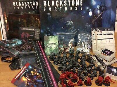 Blackstone Fortress Warhammer Quest Game Complete