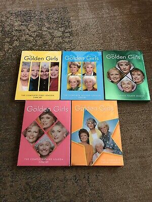 The Golden Girls: Set Series Seasons 1-5 Used DVDs